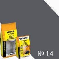Вебер. ветонит ДЕКО 14 антрацит 2кг