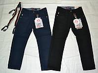 Хлопковые брюки утепленные флисом для мальчика
