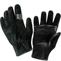Перчатки Rothco SWAT Fast Rope Rescue Leather Gloves - Black