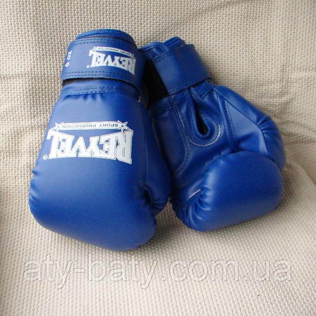 Перчатки боксёрские REYVEL, 6 ун, винил.