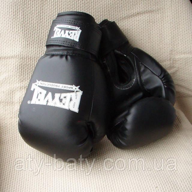 Перчатки боксёрские REYVEL, 10 ун, винил.