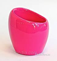 Стакан для зубных щеток и пасты серия Нора розовый