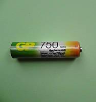 Аккумулятор микропальчиковый 750 мАч R03 ААА (NiMH) цена за 1 шт