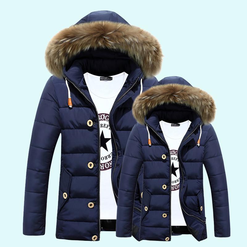 Мужская зимняя куртка с капюшоном. Модель 866