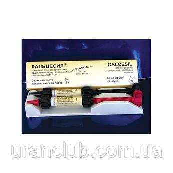 Лечебная прокладка Кальцесил, Владмива паста базисная 5г+ паста каталитическая 3г