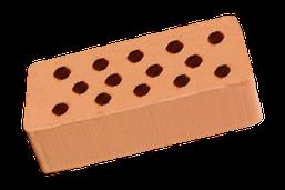 Кирпич керамический пустотный М-100