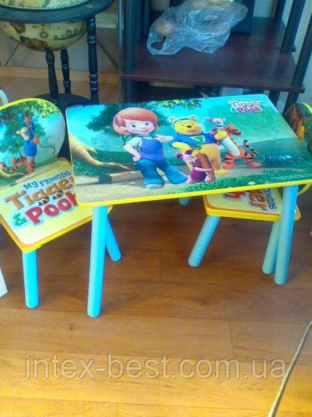 Детский столик со стульчиками J 002-281