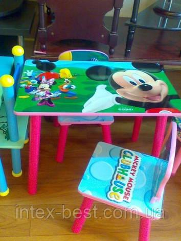 "Детский столик со стульчиками ""Микки"" J 002-285, фото 2"