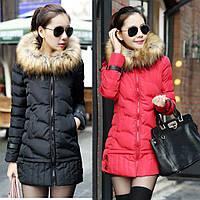 Женский зимний пуховик, женская зимняя куртка. Модель 4016, фото 2