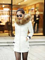 Женский зимний пуховик, женская зимняя куртка. Модель 4016, фото 3