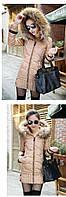 Женский зимний пуховик, женская зимняя куртка. Модель 4016, фото 5
