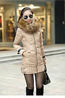 Женский зимний пуховик, женская зимняя куртка. Модель 4016, фото 7