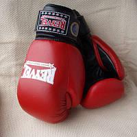 Перчатки боксерские REYVEL, ФБУ, 12ун. Кож.
