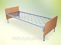 Кровать комбинированная одноярусная с быльцами ДСП