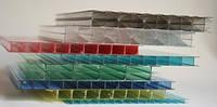 Поликарбонат сотовый POLYNEX  10 мм. Цветной