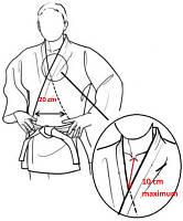 Новые требования к кимоно для дзюдо с 1 января 2014 г.