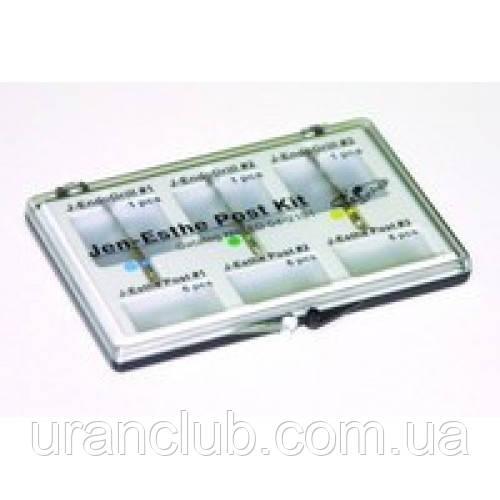 J-Estepost Kit - набор стекловолоконных прозрачных штифтов (3 х 6 шт) с развертками (3шт)