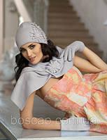 Шапка с шарфом Kamea Польша р-р 54-60
