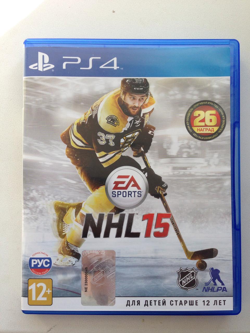 NHL 15 (PS4) pyc.