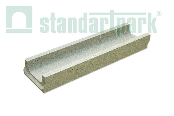 Лоток водоотводный бетонный BetoMax Basic DN100 H60 (4010)