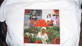 Печать фото на майке