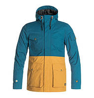 Мужская горнолыжная куртка DC Men's Tick Jacket MAJOLICA BLUE, размер M, L