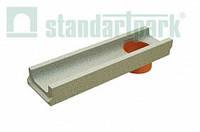 Лоток водоотводный бетонный BetoMax Basic DN100 H60 с вертикальным водоотводом (401009)