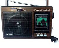 Радиоприемник GOLON RX-9966 UAR, аккумуляторный,  с USB, mp3 ,аудиотехника, портативная акустика,приемники