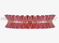 Декоративна бордюрна стрічка — 24192D Червона Modecor - 10 м