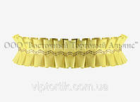 Декоративная бордюрная лента — 24192Е Жёлтая Modecor - 10 м