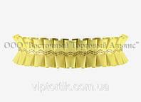Декоративна бордюрна стрічка — 24192Е Жовта Modecor - 10 м