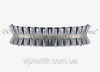 Декоративна бордюрна стрічка — 24192Н Срібна Modecor -10 м