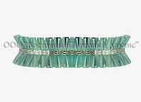 Декоративна бордюрна стрічка — 24192L Зелена Modecor -10 м