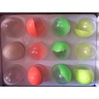 Пластилин NP303 жвачка для рук яйца светящиеся уп12