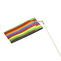 Гимнастическая лента 6м Цветная Тайвань