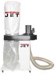 Вытяжная установка (пылесос/стружкосос) JET DC-1000