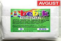 """Полимерная глина полупрозрачная 95 г. """"Бебик"""""""