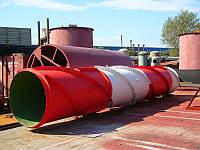 Изготовление и монтаж стальных дымовых промышленных труб