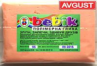 """Полимерная глина """"телесная"""" 95 г. """"Бебик"""""""