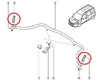 Стойка стабилизатора переднего Renault Dokker, Lodgy - Оригинал Renault 82 00 277 960