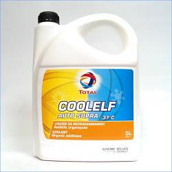Антифриз TOTAL Coolelf Auto Supra -37C (5 Liter)