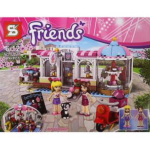 "Конструктор SY579 Friends ""Кондитерская"" (аналог LEGO Friends 41119), 474 дет, фото 2"