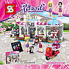 "Конструктор SY579 Friends ""Кондитерская"" (аналог LEGO Friends 41119), 474 дет"