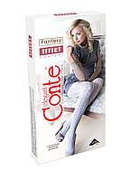 Колготки женские хлопковые ажурные Conte EFFECT, р.2-4