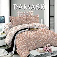 Евро постельное белье Вилюта поплин Дамаск