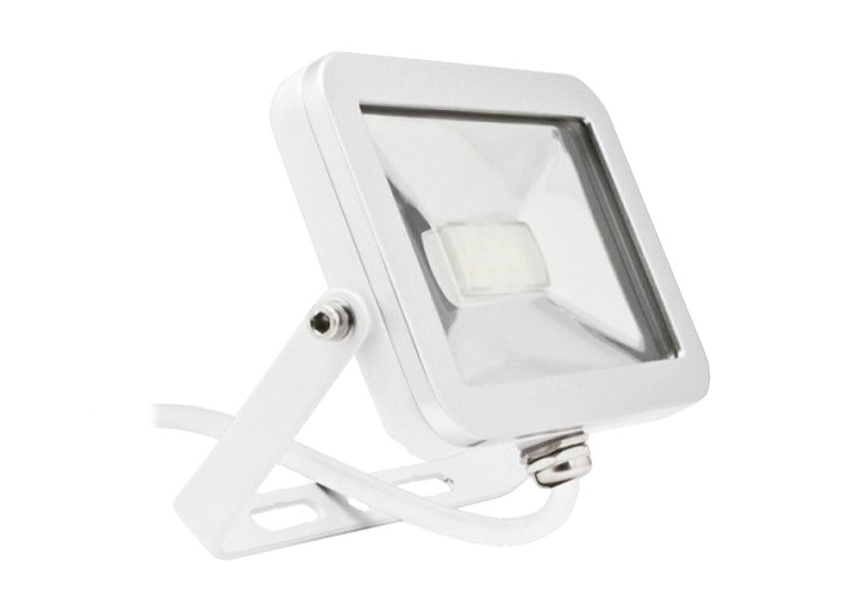 Светодиодный прожектор LP 10W, 220V, IP65 White shell