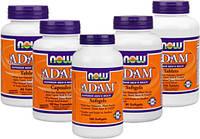 Вітаміни Adam Now Foods для чоловічого здоров'я
