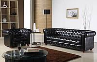 Выбор мягкой мебели из кожи