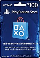 Карта пополнения счета PlayStation Network PSN 100 USD