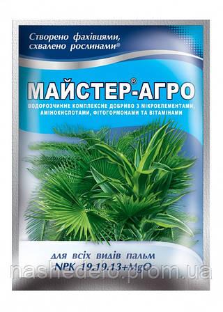 Удобрение Мастер Агро для пальм 19.19.13 (Мастер) 25 гр. Valagro